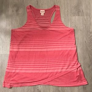 🍉 Mossimo loose fitted pink tank top size M